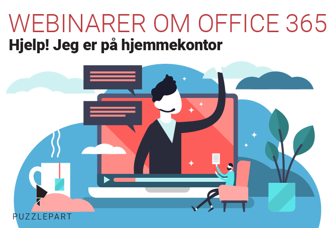 Webinarer om Office 365 og Teams