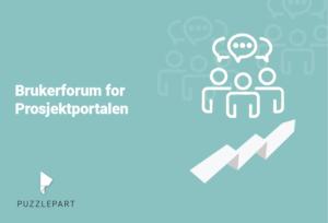 Brukerforum for Prosjektportalen