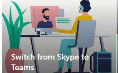 4500 brukere oppgradert fra Skype til Teams på en helg i mai