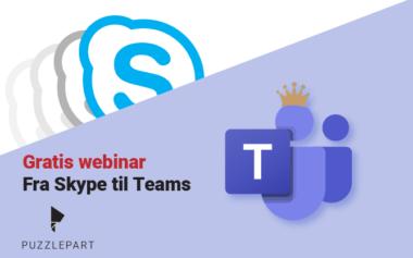 Webinar: På tide å oppgradere fra Skype til Teams