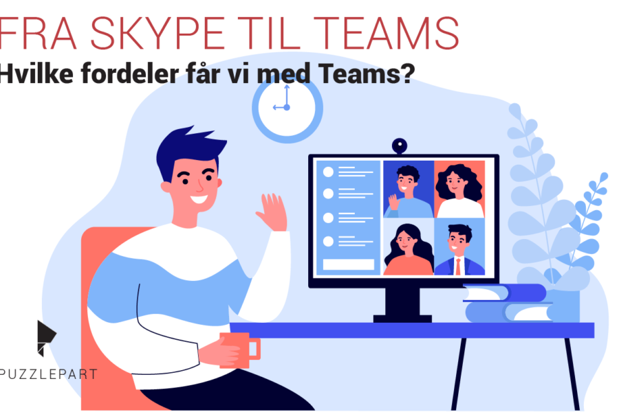 Fordelene med Teams vs. Skype for Business