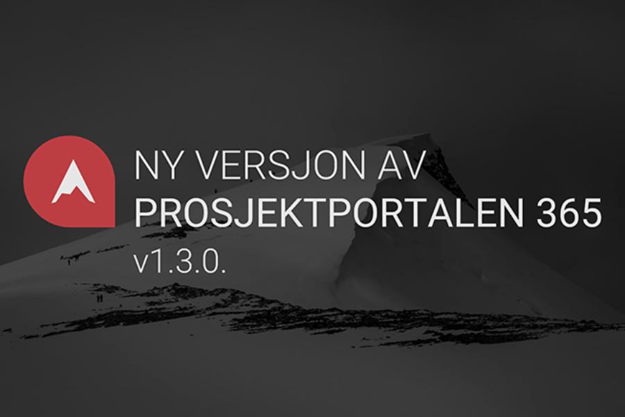 Ny versjon av Prosjektportalen 365
